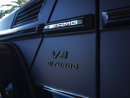 G63 V8 Badge