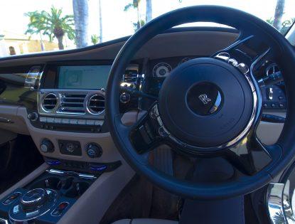 Rolls Royce dash