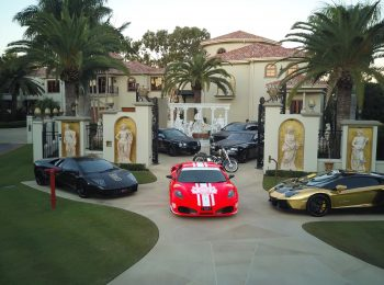 Candy Shop Mansion fleet
